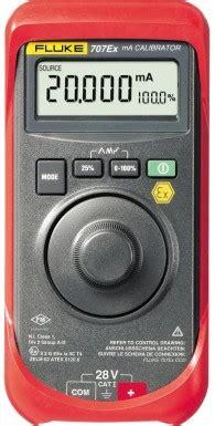 Fluke 707ex Intrinsically Safe Loop Calibrator Kalibrat Murah calibrators