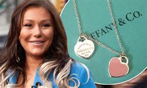 Jwoww gets a tiffany necklace for her baby girl daily mail online