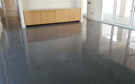 stained vs polished concrete floors advance industrial