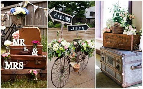 Outside Home Decor Ideas by How To Plan A Vintage Themed Wedding