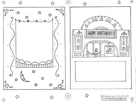 printable birthday cards you can color printable birthday card to color