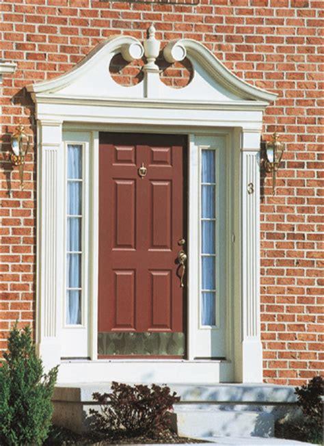 colonial door trim fypon urethane millwork door surround review