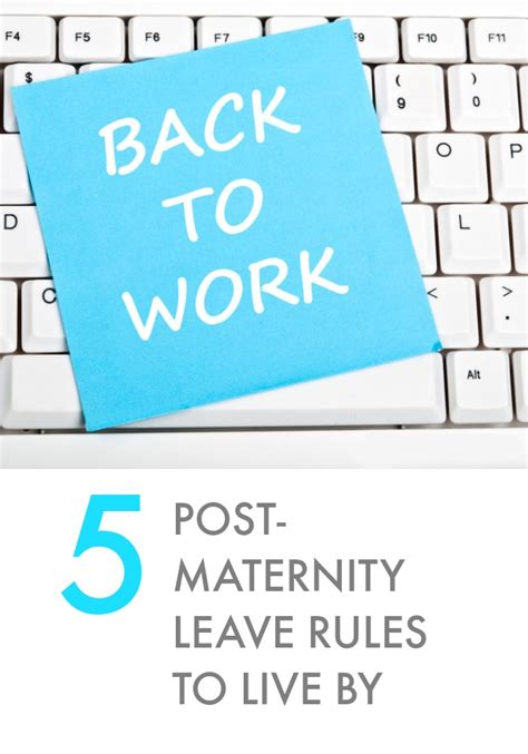 Going Back To Work After Mat Leave by Returning To Work After Maternity Leave Again