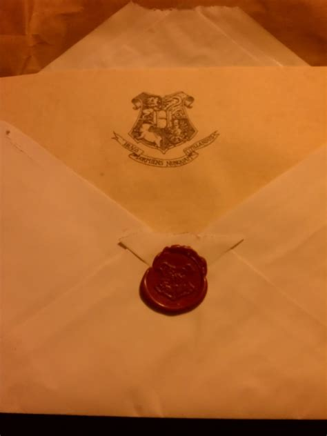 Hogwarts Acceptance Letter Seal I Finally Got My Hogwarts Acceptance Letter And Sooooo Much More Exchange