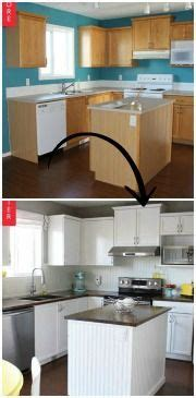 the duffle family diy kitchen makeover 72 best manufactured home makeover images on pinterest