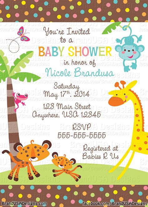 Cheap Custom Baby Shower Invitations by 203 Best Baby Shower Invitation Card Images On