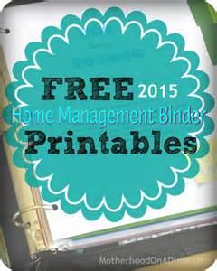 home management binder templates free free home management binder printables 2015 money saving