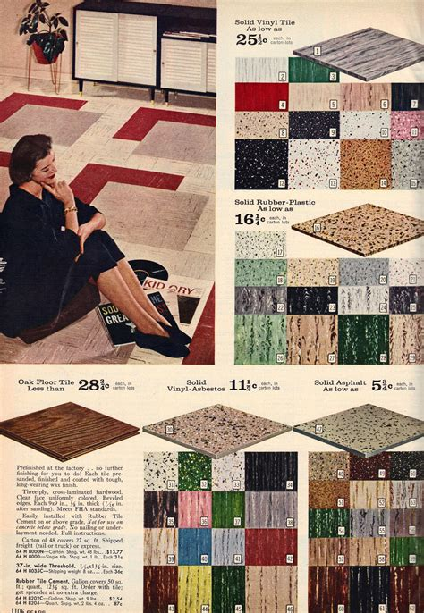mid century floor tiles   fallwinter sears