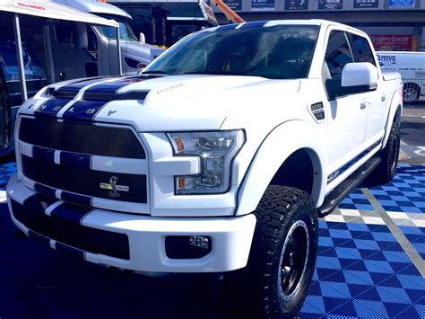 Shelby unveils its 700 HP F 150: equal parts off roader