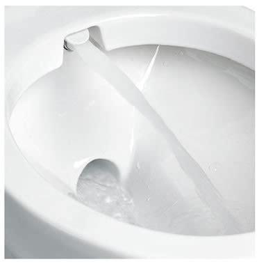 toilette mit wasserstrahl planus vision toilet with integrated bidet water jet