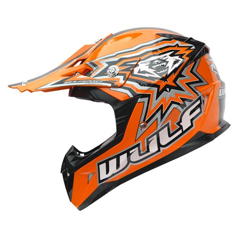 toddler motocross helmet wulf cub flite xtra motocross helmet junior childrens