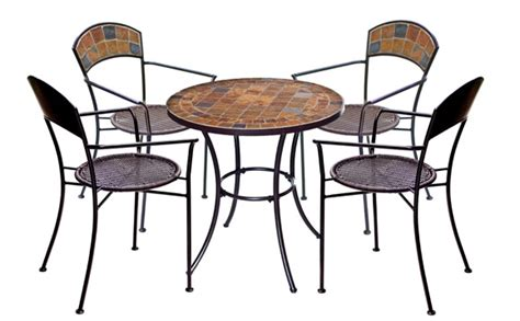 cafe style outdoor table and chairs sorrento bistro table chair set 4 chairs patio garden