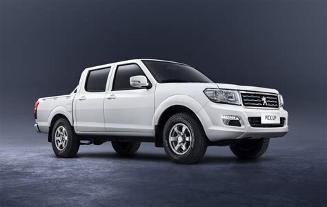 peugeot pickup peugeot reveals dual cab pick up for african market