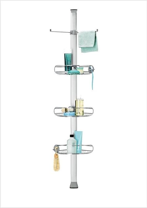 Adjustable Shower Caddy by Simplehuman Adjustable Tension Shower Caddy Stainless