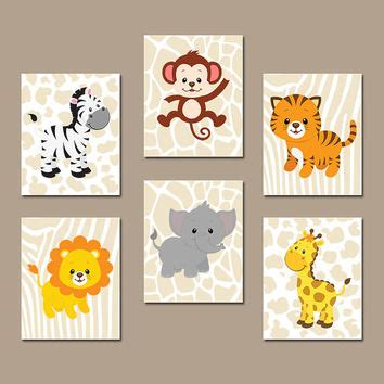 Boy Bedroom Wall Stickers best jungle animal wall art products on wanelo