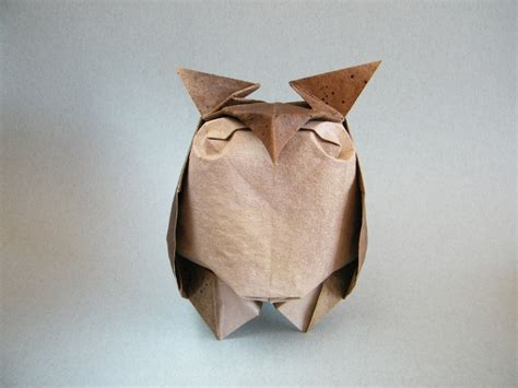 Origami Paper Owl - if you give a hoot about origami then check out these owls