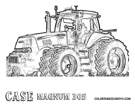 combine tractor coloring page free coloring pages of case ih tractor