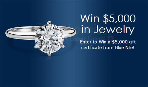 Blue Nile Sweepstakes - blue nile jewelry sweepstakes