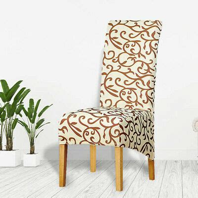 large size stretch spandex dining chair cover washable