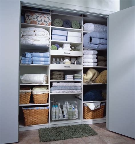 Linen Closet Organization Systems Best 25 Linen Cupboard Ideas On Bathroom