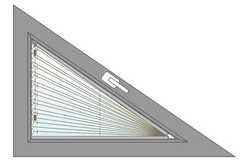 jalousie dreiecksfenster plissee l 246 rrach