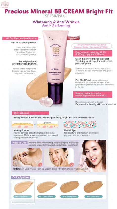Precious Flower Bright Bb Spf30 1000 images about etude house skin79 on skin79 bb and korean bb