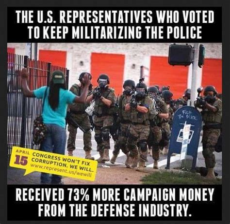 Military Police Meme - did lawmakers who voted to keep defense surplus program