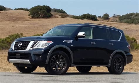 nissan armada 2017 black 2017 nissan armada the daily drive consumer guide 174