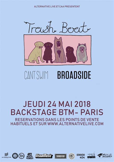 trash boat concert concours trash boat en concert 224 paris