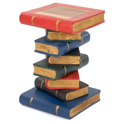 book stack table painted gold lifestyle arts  crafts