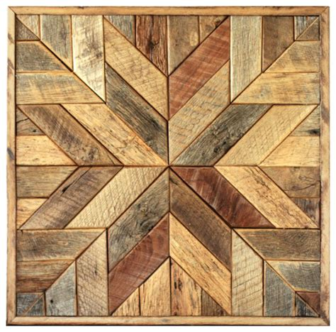 rustic wall art wood star wall art star quilt block 36 x 36 inches