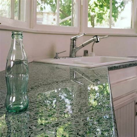 Recycled Glass Kitchen Countertops by Best 25 Countertop Ideas On Resin