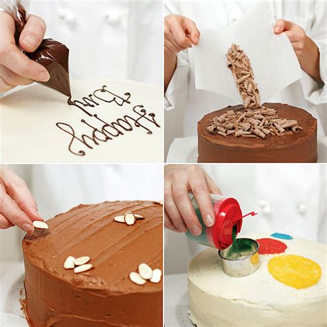 Tips For Cake Decorating At Home by Easy Cake Decorating Ideas Popsugar Food