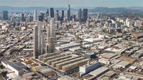 la downtown arts district booming appa real estate towering development is proposed for l a s arts district