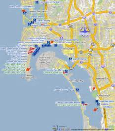 San Diego Area Map by San Diego California Map