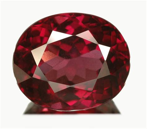 red gem rhodolite garnet gemstone information