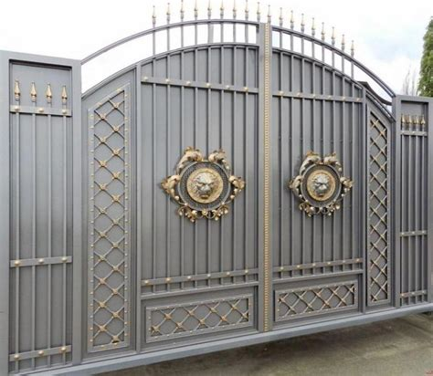 stunning gray gold gate design ideas for modern home decor ideas gate gold gate