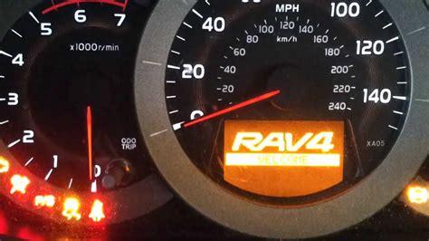 toyota rav4 check engine light toyota rav 4 service reset youtube