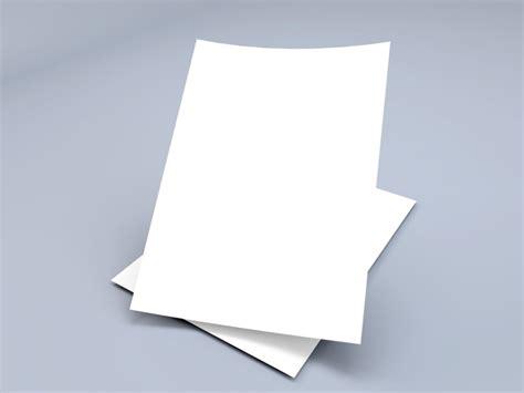 A4 Paper Folding - floating a4 paper sheets mockup mockupworld