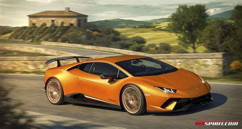 Lamborghini Huracan Official Official 2018 Lamborghini Huracan Performante Gtspirit
