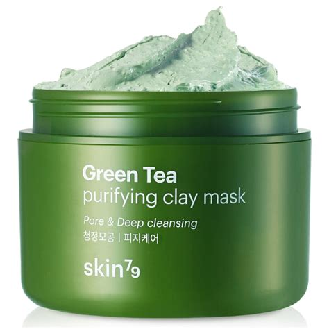Green Detox Mask by Skin79 Green Tea Clay Mask 95ml Hq Hair