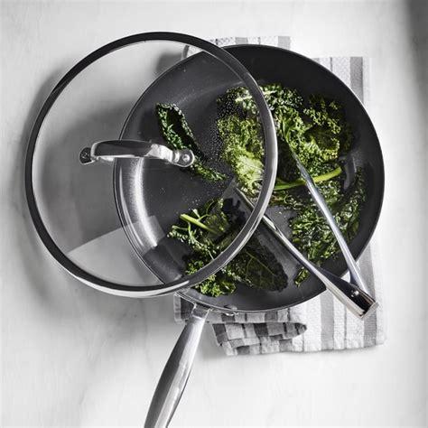 Teflon Ceramic greenpan minerals ceramic nonstick covered fry pan