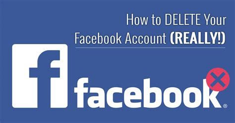how to permanently delete your account 2019 update