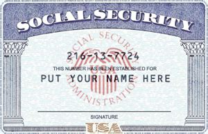 Editable Social Security Card Template Social Security Card Template Beepmunk
