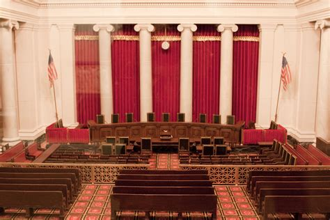 Supreme Court Room supreme court building courtroom in miniature from