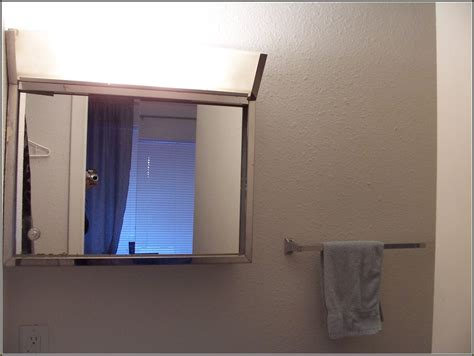 mirror cabinet with light lighted medicine cabinet lighted bathroom medicine size