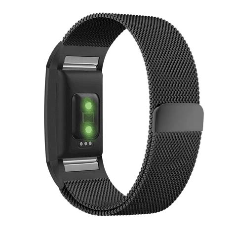 Fitbit Charge 2 Band fitbit charge 2 band with milanese loop stainless steel