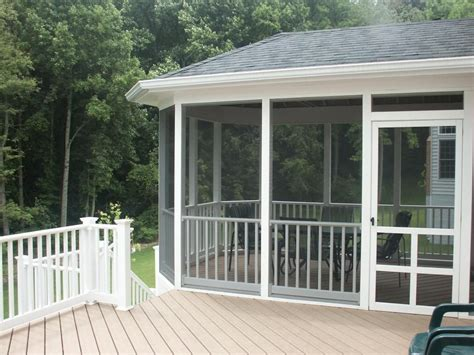 Screen Porches Screened Porch Composite Decking Screened Patio Designs