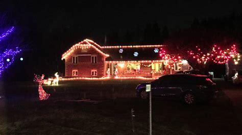 old scugog road christmas lights scugog rd lights in 2015