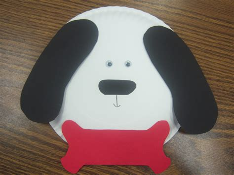 paper a puppy puppies storytime paper plate craft asuntospublicos